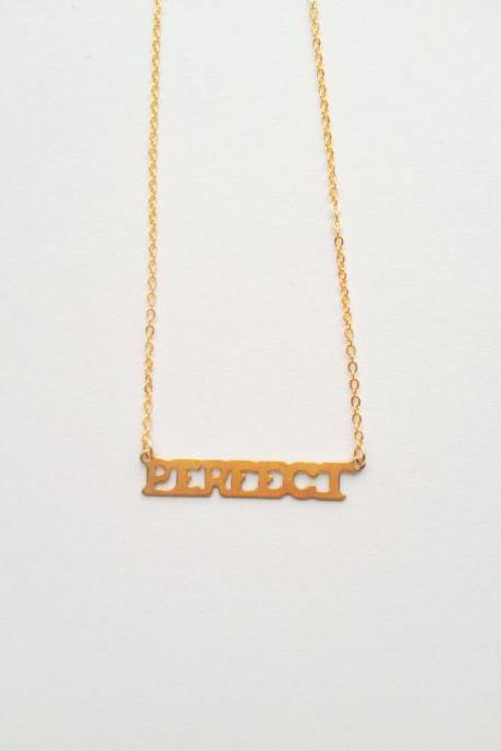 Vintage retro perfect gold plated necklace :) Cute lovely heart vintage chic