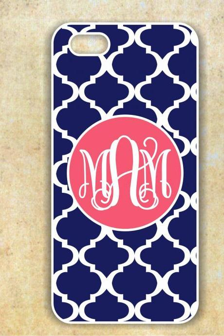 Monogrammed IPhone 5 case - Personalized Hard Cases for Phones