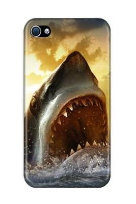 iPhone 4/4s case, iPhone 5 case, galaxy s2 case, galaxy s3 case, galaxy s4 case, galaxy note2 case, htc one x case - Shark Attack