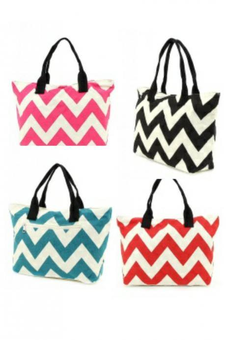 Darling Monogrammed Chevron Purse~~very trendy~~HOT SELLER!!