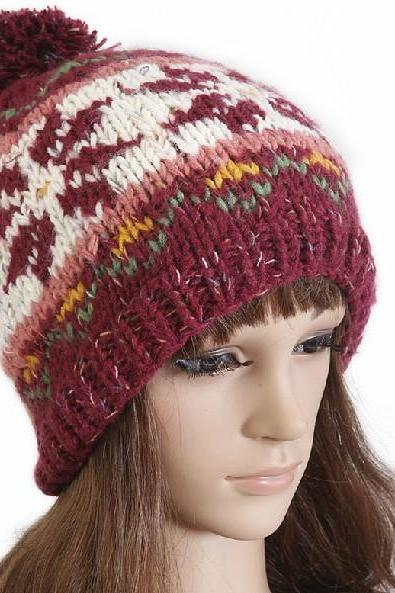 Pure cotton knitted cap