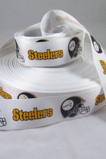 Pittsburgh Steelers Ribbon - 1 Yard, 1' Ribbon