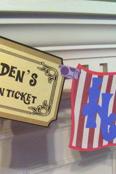 Willy Wonka & the Chocolate Factory Birthday Banner