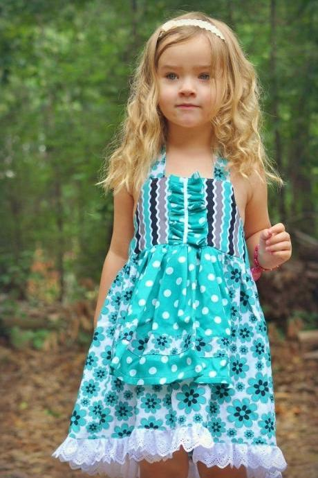 Sewing Pattern for Apron Dress, For beginner, Pdf Pattern