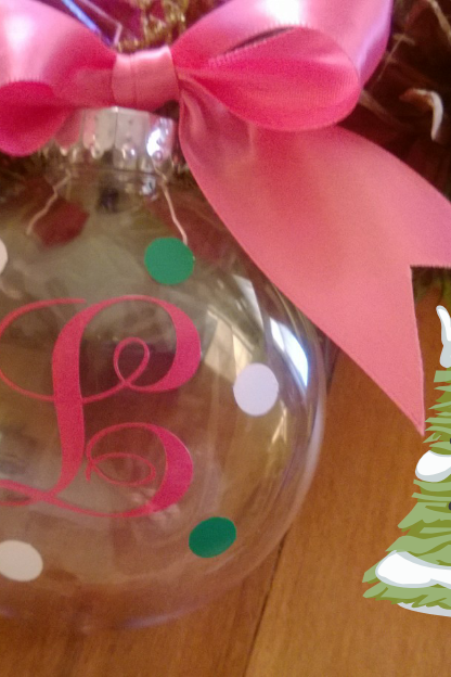Monogrammed Christmas Ornaments HOT SELLER!!