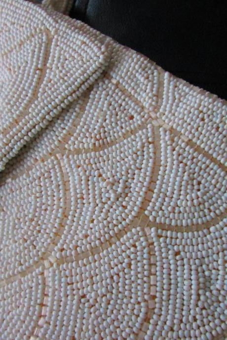 Vintage Beaded Formal Bag 1950s