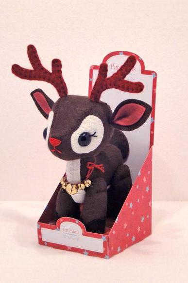 Reindeer & Gift Box - PDF Pattern Download