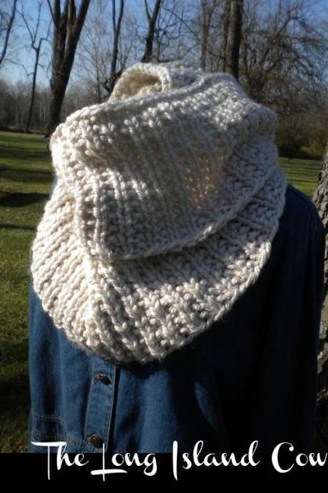 The Long Island Cowl knitting pattern