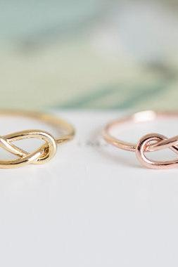 knot ring,vintage style ring, unique ring,eternity ring, jewelry, jewelry ring,fashion ring,ring for women,girls ring,R125N