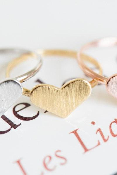 love heart ring,adjustable ring,unique ring, jewelry ring,love ring,ring for women, womens ring, girls ring,pink ring,R163N