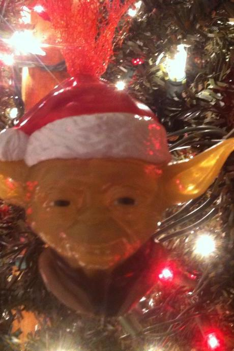 Star Wars Yoda Christmas tree ornament
