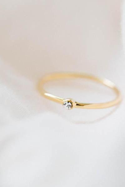 slim cz round knuckle ring,Weddings,Jewelry,knuckle ring,brass knuckle,engagement ring,bridesmaid jewelry,cz ring,bridesmaid rings,,R200N