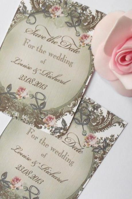 10 Save the Date Cards Design Louise Ref 222