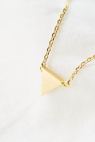 cute triangle necklace N083K