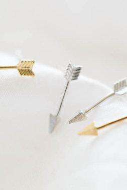 arrow silver stud earrings/earrings silver/earrings for men/men earrings,E074R