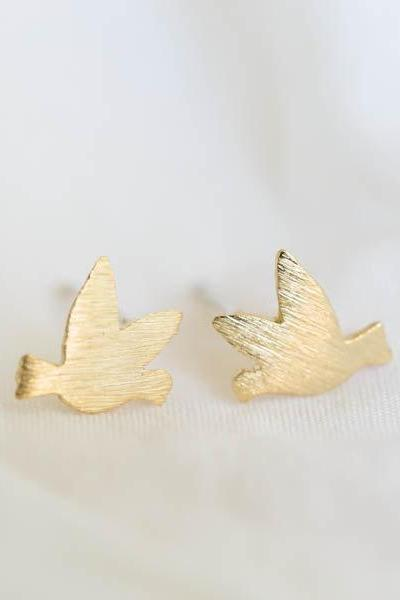 dove stud earrings/silver earrings/earrings silver/earrings for men/men earrings/teens earrings/earrings studs,E069R