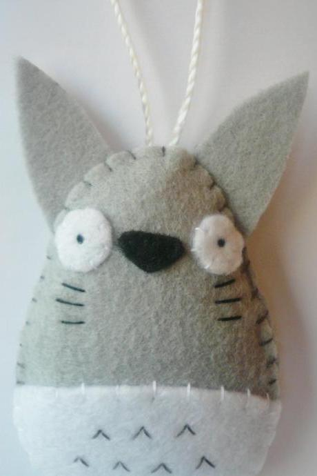 Totoro Christmas Ornament