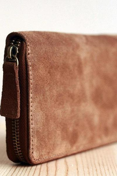 For iphone Leather wallet in Brown / mens wallet / iphone Wallet / phone case/ iphone case / leather case / Men / For He-T5