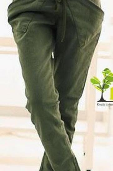 Casual Loose Skinny Pants (3 Colors)