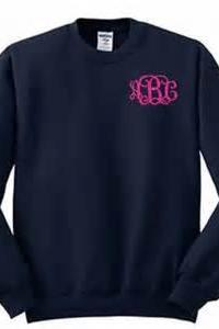 Monogrammed Sweater