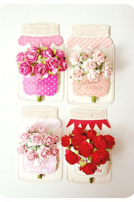 Valentine flower jar tags 2