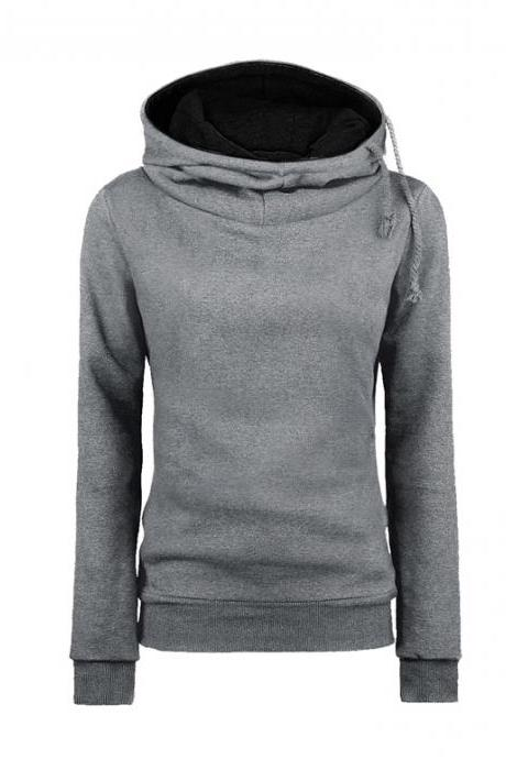 Assorted Colors Thick Women Hoodie