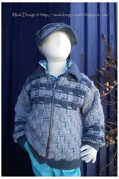 School Jacket - PDF Pattern