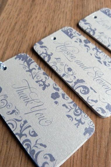 Wedding Favor Tag / Thank You Tag / Wedding Gift Tag - Blossom Wedding Range