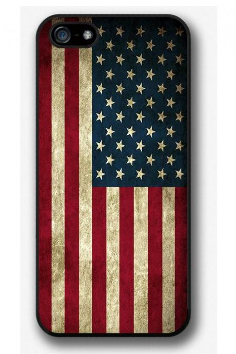 iPhone 4 4S 5 5S 5C case, iPhone 4 4S 5 5S cover, Flag of USA