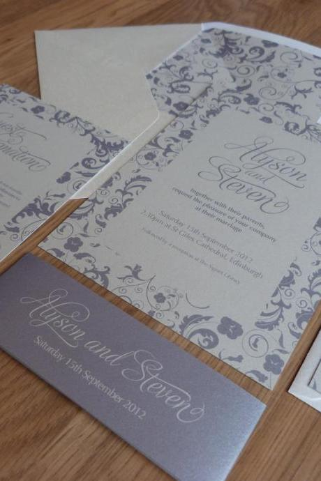 Wedding Invitation Suite - Blossom Wedding Range