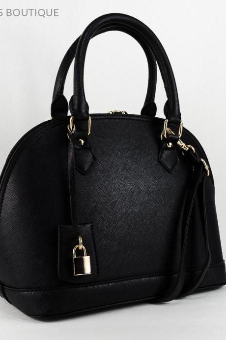 Bowler Leather Tote