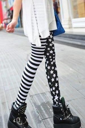 Chic Stars ans Stripes Leggings