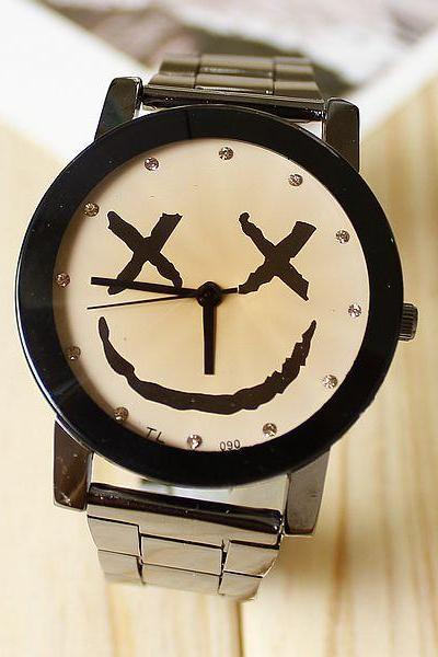 Cute Smiley Watch