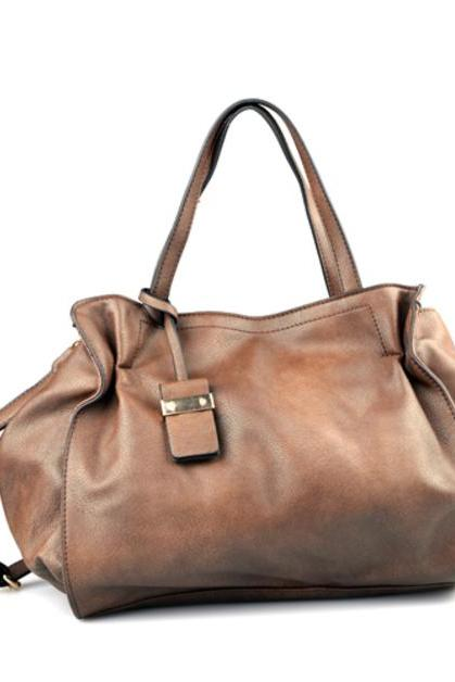 Handmade Brown LARGE (56 x 34) Handbag
