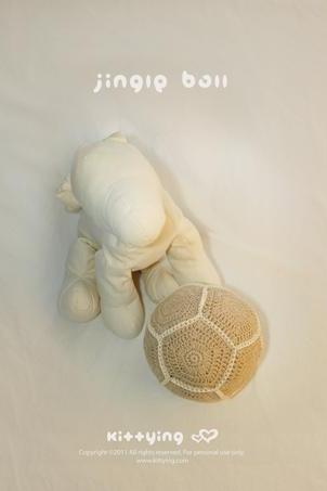 Jingle Ball Crochet PATTERN, SYMBOL DIAGRAM (pdf) by kittying