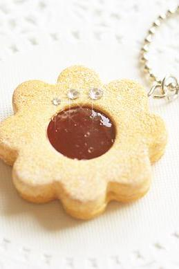 Cookie Flower Jewelry - Cookie Necklace