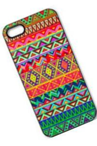 S5Q Retro Vintage Aztec Geometric Tribal Hard Case Back Cover For iPhone 5 5S AAACRE