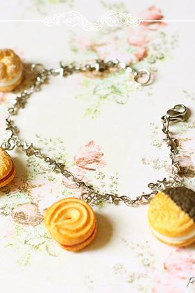 Fake Sweets Bracelet - Sweets Jewelry - 6.25 inches - Small Wrist Bracelet