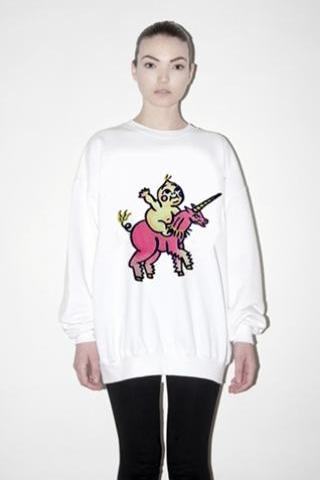 Harajuku Little Unicorn Sweatshirt Jumper