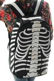 2014 Harajuku Skeleton Backpack. Three Colors Available