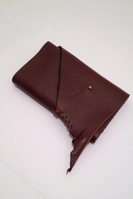 Womens Rustic Leather Wallet