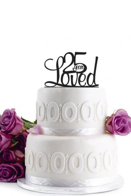 Wedding Cake Topper - Initial Wedding Decoration - Cake Decor Personalized Wedding Cake Topper - Monogram Cake Topper