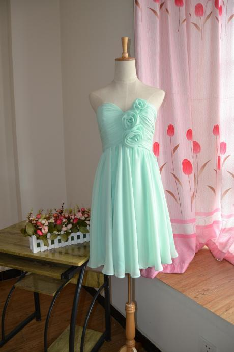 Knee length bridesmaid dresses /mismatch mix match /MINT green / dresses / Bridesmaid / Party dress/ wedding dress/ Bride ( Color #81)