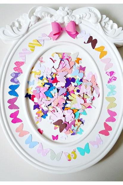 Mini Butterfly die cut Embellishment