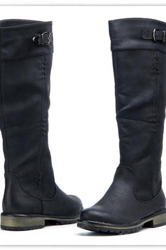 Black Boots Winter Boots Fashion Boots Biker Boots Vintage Boots Vintage Look Boots, Boho Boots