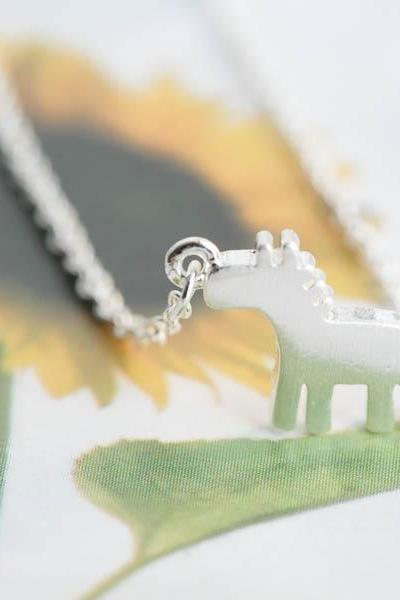DalaHorse necklace,Jewelry,Necklace, Charm,horse necklace,dala horse,Swedish Dala horse,toy horse,horse lover holidays,animal jewelry, N153K