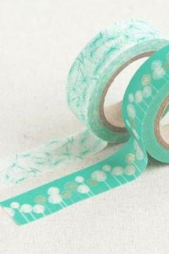 Masking adhesive tape decorative tape - Dandelion