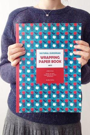 Scandinavian & Nordic Style Wrapping Paper Book (20 Designs Set)