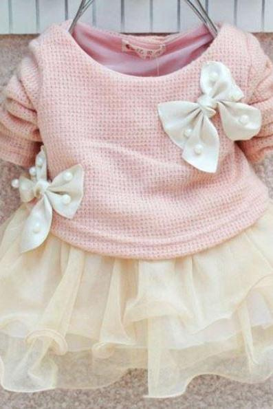 Newborn Girls 6-9 Pink Tutu Dress - Infant Girls Pink Tutu Dress-Photography Props Dress