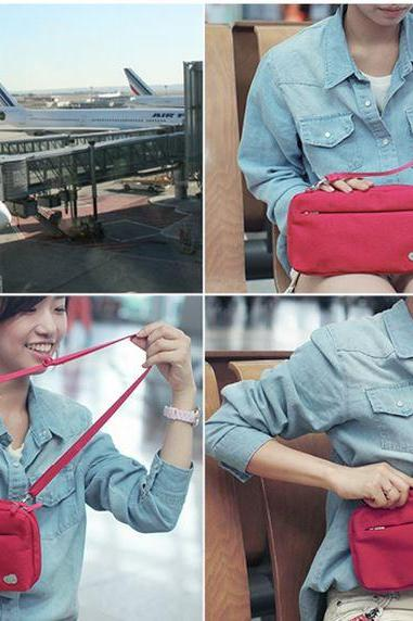 Cross body Travel Bag 5 Color Selection